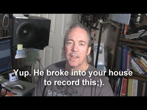 How To Improve Audio Quality In Your Home Studio - Tip #1