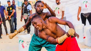 African Warriors Fighting Championship - Shagon Huntuwa vs Na Dauran Baga - full Dambe fight video