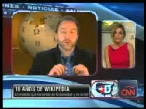 CNN: Silvina Moschini about Wikipedia and WikiExperts, Jan 2011