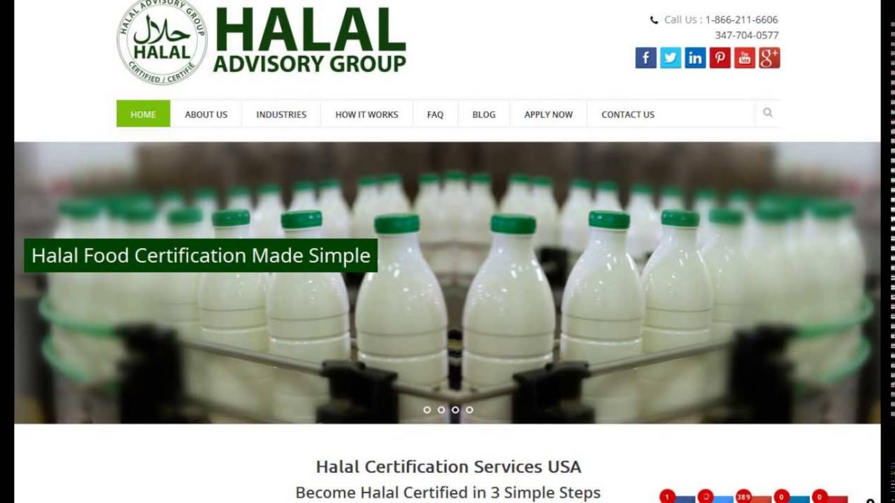 Tips To Get Halal Certification Services In Usa Youtube