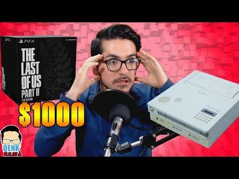 Nintendo Playstation a la VENTA - TLoU 2 Edición Ellie a $1000 - Blizzard FAIL |QN