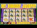MY BIGGEST JACKPOT ON RAWHIDE HIGH LIMIT SLOT MACHINE