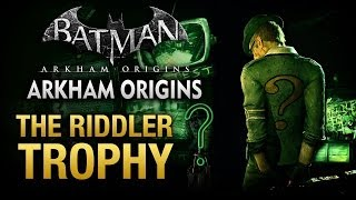 Batman Arkham Origins ENIGMA most wanted guide pt1