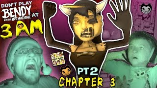 DON'T PLAY BENDY & THE INK MACHINE @ 3AM! CHAPTER 3 Alice Angel is SCARY! FGTEEV Haunted House (Pt2) thumbnail