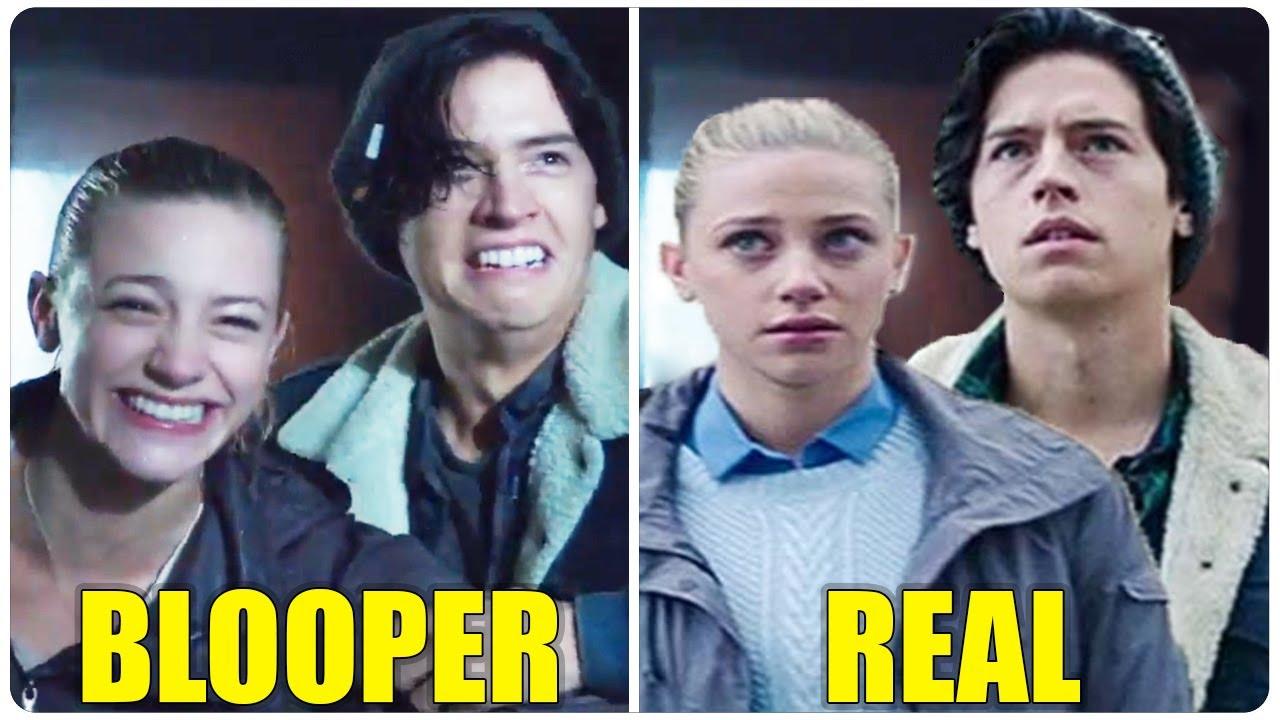 RIVERDALE Bloopers VS The Real Scene