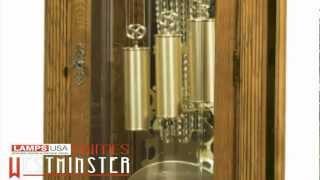 Howard Miller Leighton Floor Grandfather Clock Chimes 611 186