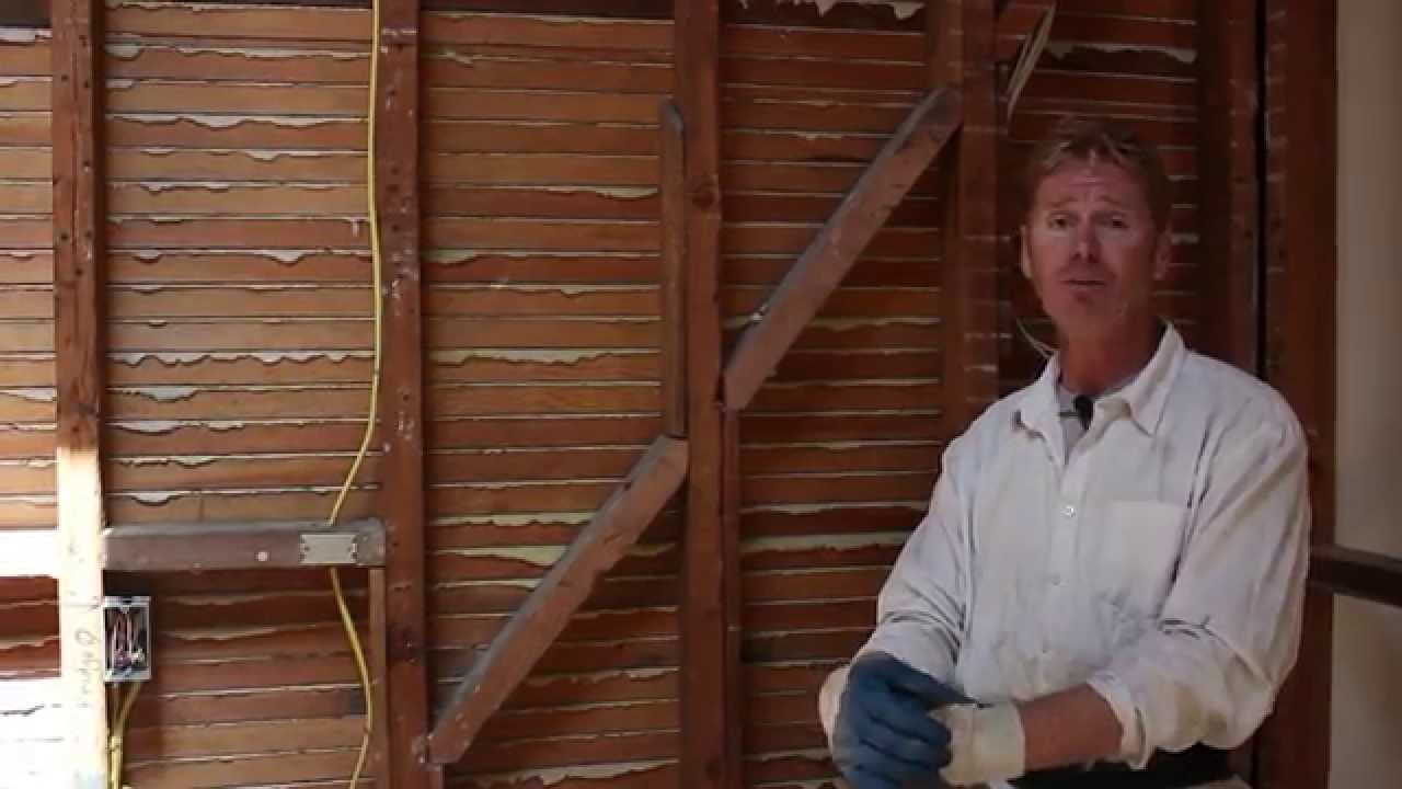 How And Why Plaster Keys In Wooden Lath Youtube