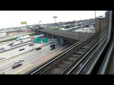 CTA Green Line ride from Adams/Wabash to Ashland/63rd