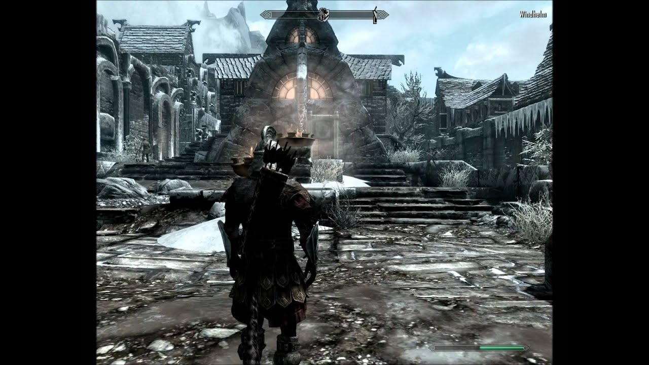 Skyrim Tip  Blood On Ice Quest  How To Start Quest  1080p