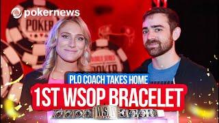 Upswing Poker PLO Coach Dylan Weisman Scores 1st WSOP Bracelet!