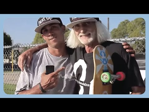 60-Year-Old Skateboarder Is A Hero To At-Risk Kids