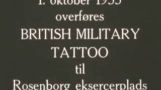 British Military Tattoo til Rosenborg eksercerplads