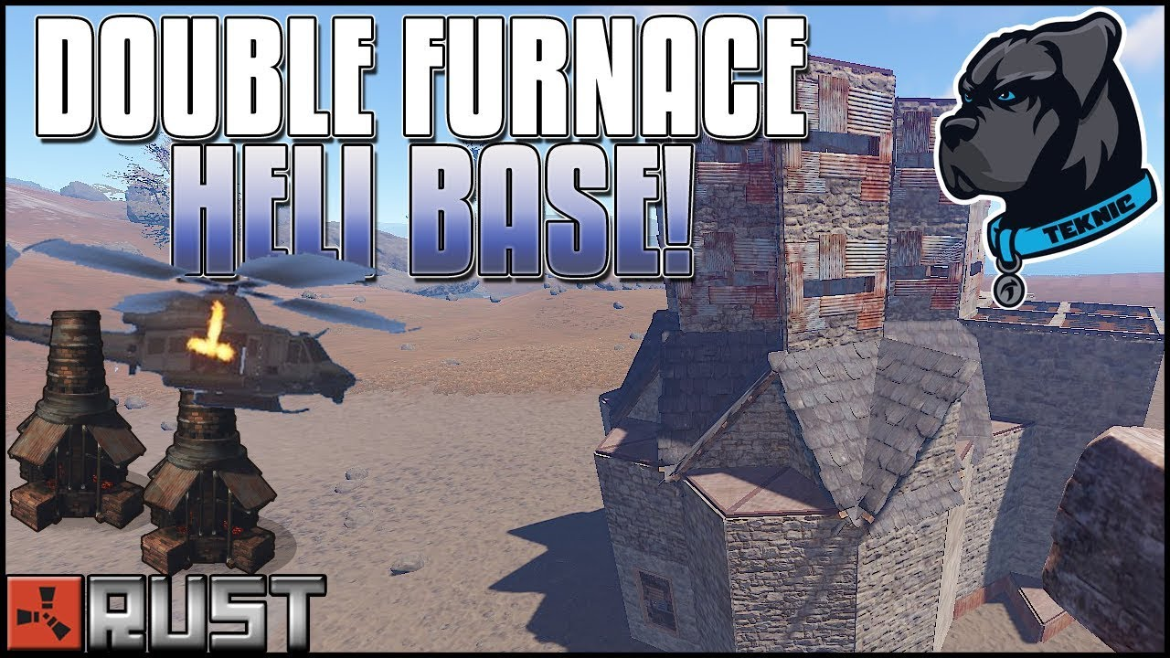 how to build a furnace base in rust