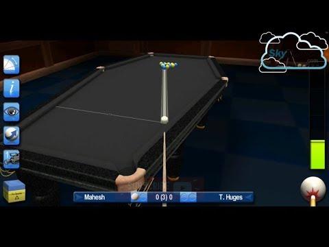 Snooker HD | World 8 Ball Challenge | Tough Match | Mahesh VS T. Huges | 3 Frame Match