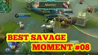 Baixar BEST SAVAGE MOMENT MOBILE LEGENDS #08