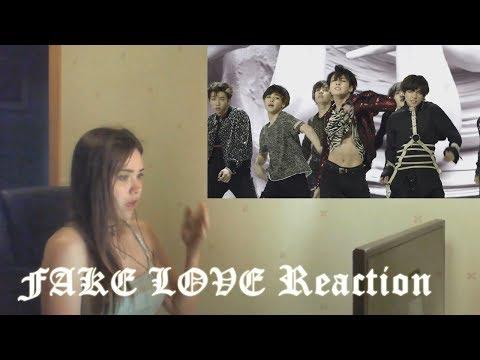 BTS (방탄소년단) 'FAKE LOVE' MV Fan Reaction (re-upload)