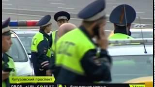 В аварии на Кутузовском проспекте погиб мотоциклист
