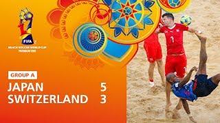 Japan v Switzerland Highlights FIFA Beach Soccer World Cup Paraguay 2019