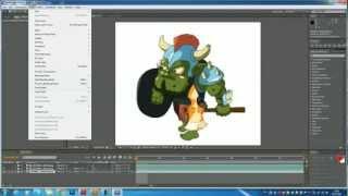 Игровая анимация во флеше (Flash) видео урок! Часть 2