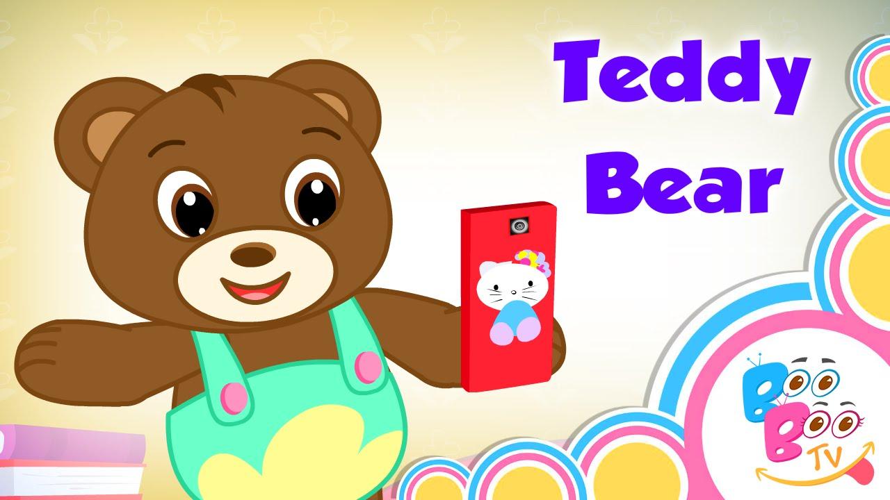 Teddy Bear Teddy Bear Turn Around With Lyrics - English Kids ...