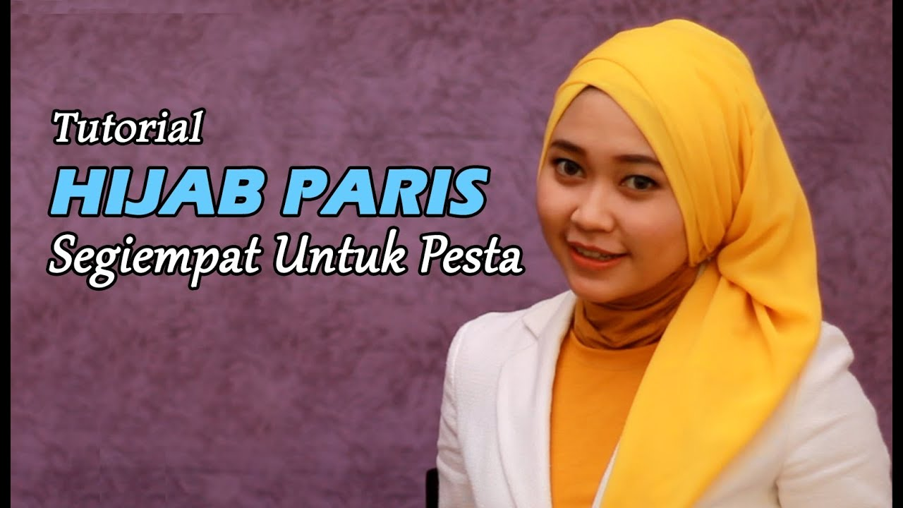 Unique Hijabcara Pakai Hijab Paris Tutorial Hijab Modern 24 My