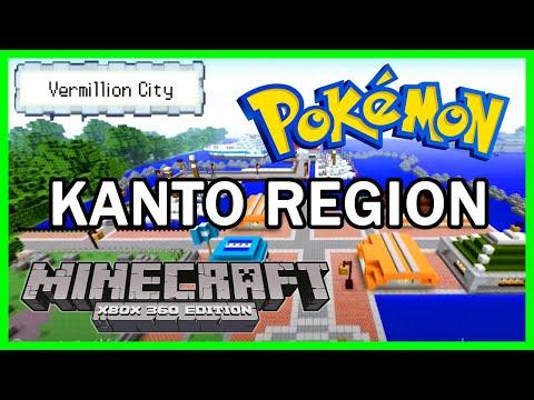 The Best Minecraft Kanto Region :: Xbox 360