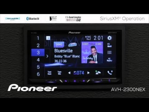How To - SiriusXM On Pioneer AVH-NEX In Dash Receivers 2017