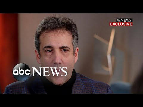 Cohen on Trump as president: 'He's a very different individual' l FULL INTERVIEW PT 2/2