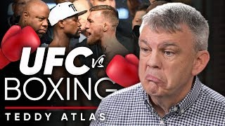WHICH IS THE BETTER COMBAT SPORT? - UFC or BOXING   Teddy Atlas On London Real