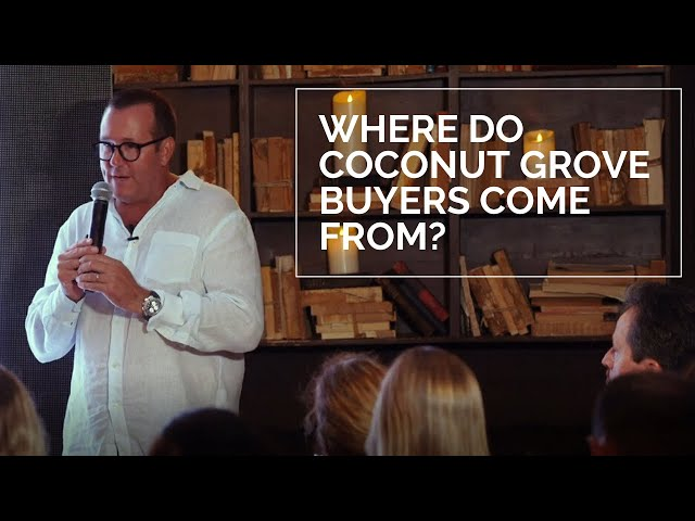 Where  Do Coconut Grove Buyers Come From?
