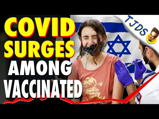 COVID Surges Among VACCINATED In Israel