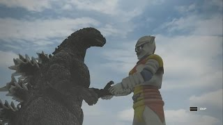 Godzilla PS4: Godzilla Vs All Kaiju + TimeTag(All Creatures) 1080p