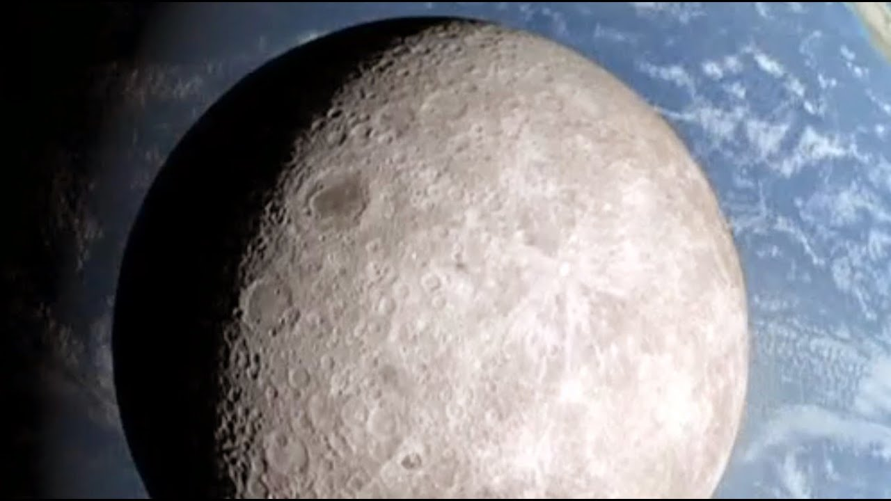 nasa reveals dark side of moon - photo #13