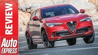 New Alfa Romeo Stelvio Quadrifoglio Review - Can It Really Beat The Macan Turbo?