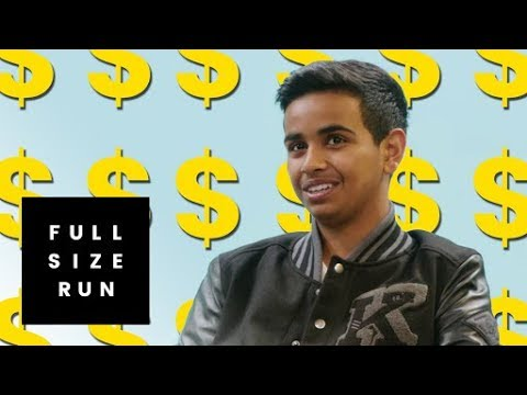 Who is Money Kicks? Dubai's Billionaire Teenager Taking Over Sneaker YouTube | Full Size Run