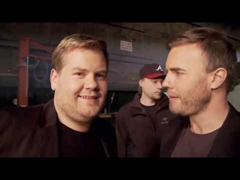 James Corden and Gary Barlow - the best bromance between a fan and his idol ever