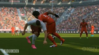 PES 2016 Gameplay HD Bayern München vs. AS Roma Full game
