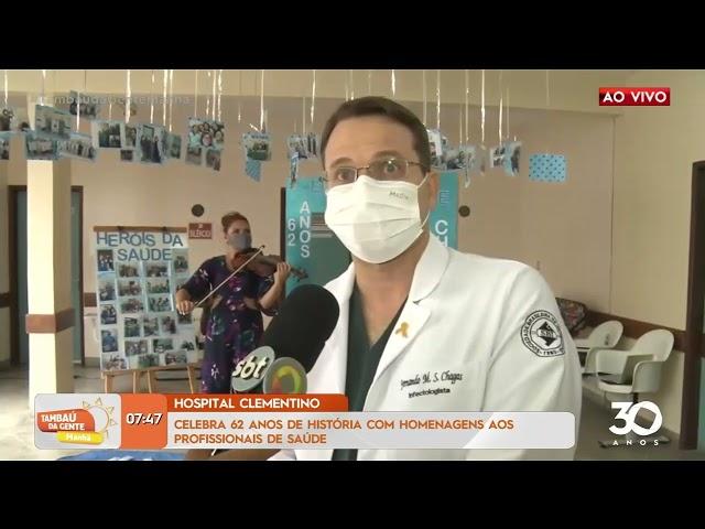 Hospital Clementino celebra 62 anos com homenagens aos profissionais- Tambaú da Gente Manhã