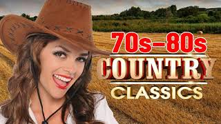 Top 100 Classic Country Songs of 70s 80s - Best Old 70s 80s Country Music Hits