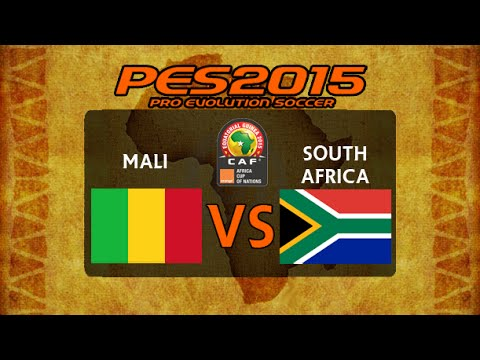 PES 2015 | Mali - South Africa | 2015 Africa Cup Of Nations Final
