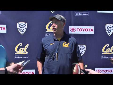 Cal Football: DC Art Kaufman Post Practice (8/27/14)