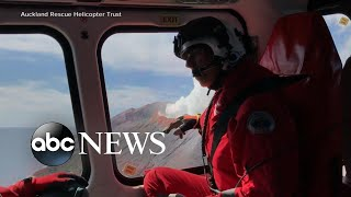 And39highly Volatileand39 New Zealand Volcano Poses Threat In Search For Missing L Abc News