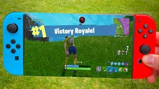 Fortnite on NINTENDO SWITCH - Only WINS!