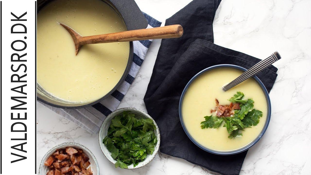 Kartoffelsuppe Den Bedste Opskrift På Cremet Kartoffel Suppe Med
