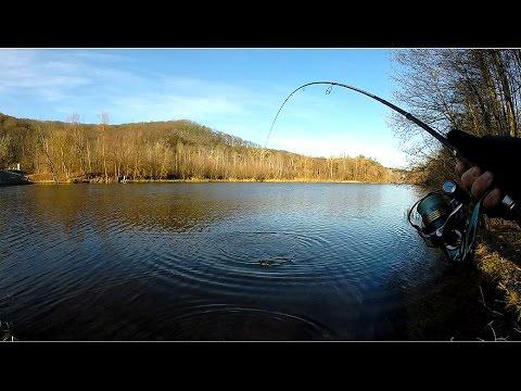 летняя рыбалка со спиннингом
