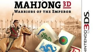 CGR Undertow - MAHJONG 3D: WARRIORS OF THE EMPEROR review for Nintendo 3DS