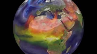 Движение воздушных масс в атмосфере Земли