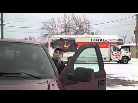 Governor Scott Walker thug threatens video camera man (Hayward, WI - 3/3/2012)