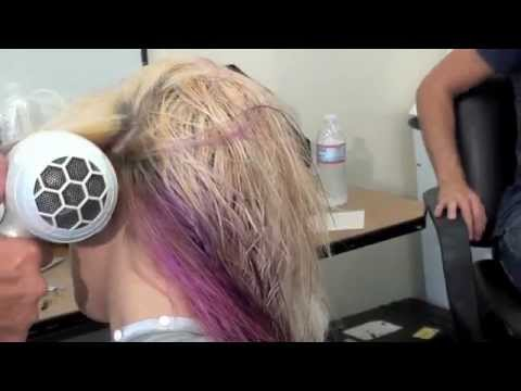 HOW to BLOW DRY HAIR in THE SALON by RICO ALTIERI