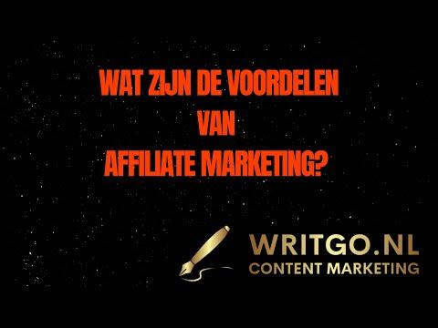 Wat zijn de voordelen van Affiliate Marketing? De belangrijkste voordelen op rij!
